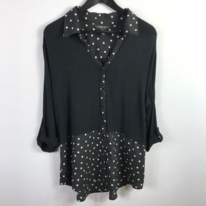 Style & Co Womens Tunic Size XL Top